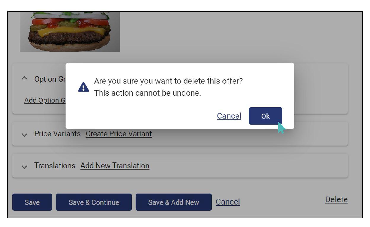 offer deletion confirmation prompt