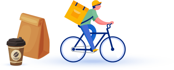 Online ordering and food delivery service